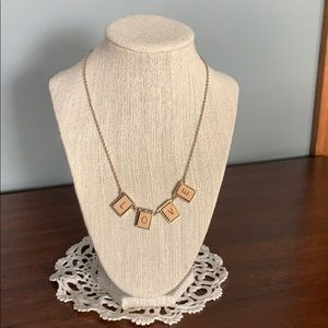 Jewelry - Scrabble Letter Necklace